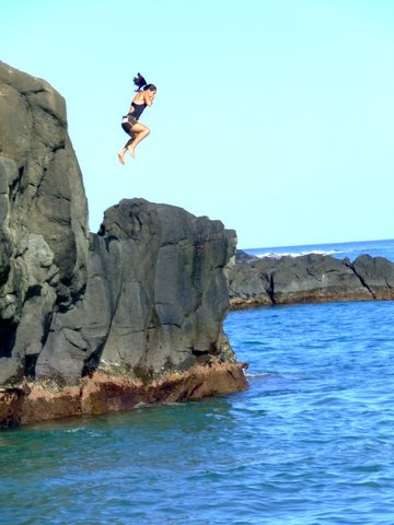 Adrenaline cliff diving and live television the blog - Highest cliff dive ...
